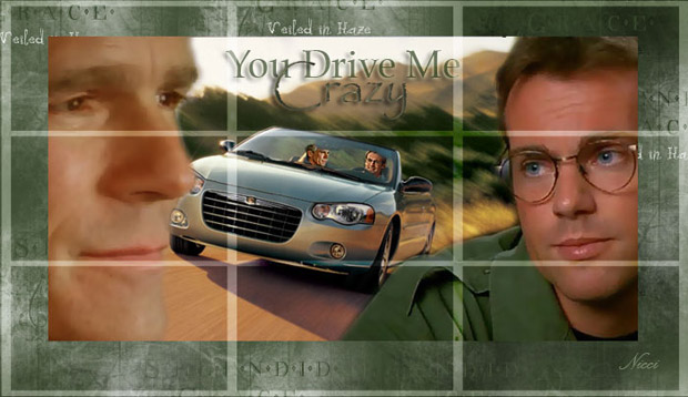 Cover artwork for Driving me crazy by Nicci